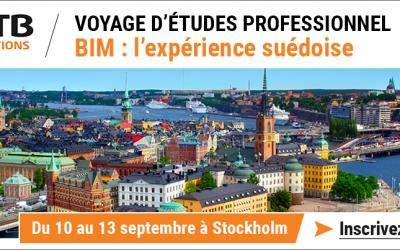 Voyage d'étude professionnel BIM : l'expérience suédoise